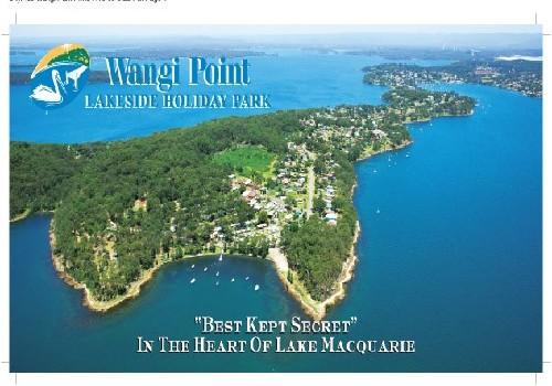 Wangi Point Lakeside Holiday Park Australia Lake