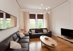 An ideal space for making the most of your stay - The main living room features a flat screen TV, and throughout the apartment there is a wireless broadband internet connection.