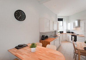 The spacious kitchen diner - Featuring dining space for up to 12 people, great for enjoying breakfast or an evening meal after a day of sightseeing.